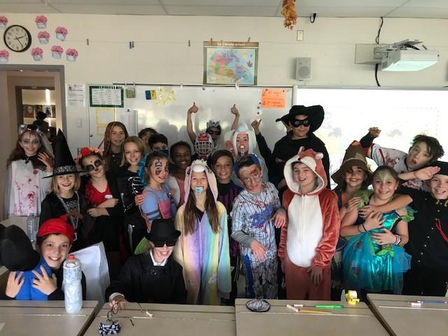 L'Halloween à la Chantignole